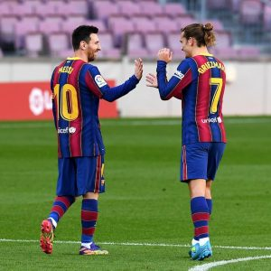Griezman and messi